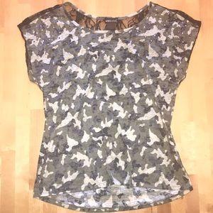 ADORABLE camo blouse